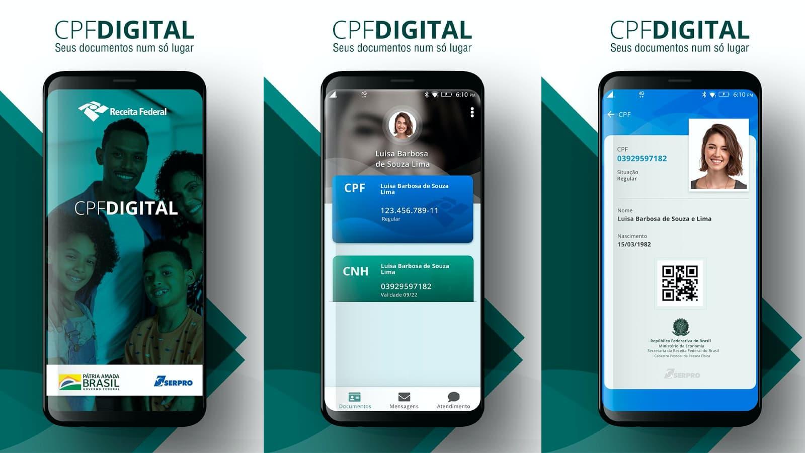 CNH e CPF Digital